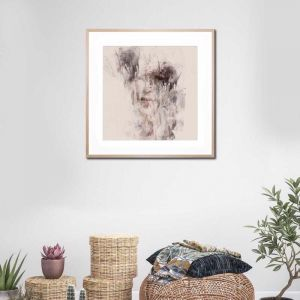 Untitled 8   Framed Print By United Interiors