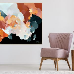 Up In The Clouds 21 | Framed Canvas | Limited Edition Print by Lauren Danger