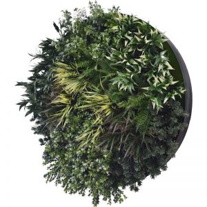 UV Green Field Green Wall Disc | Black | 100cm
