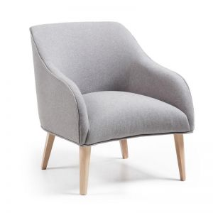 VALENTINE Upholstered Armchair | Grey