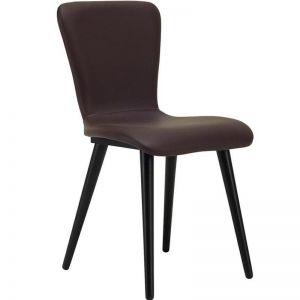 Valley Dining Chair | Espresso + Mocha | Modern Furniture