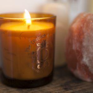 Vanilla Bean Amber Pot Candle