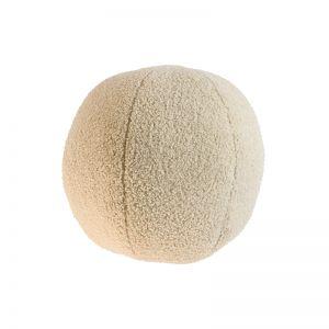 Vanilla Cream Boucle Ball Cushion | Pre Order