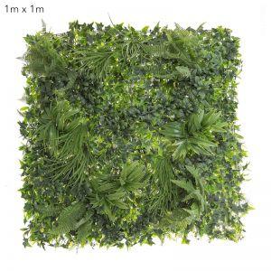 Variegated Foliage Wall | UV treated