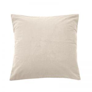 Velvet European Pillowcase | Pearl
