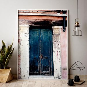 Venetian Teal Door | Limited Edition art prints | Unframed | 3 sizes