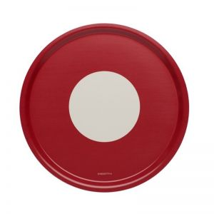 Vera Tray Round | Red