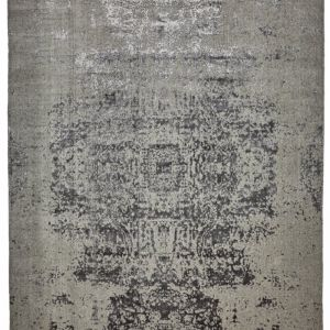 Vienna Classic Distressed Wool Rug | Grey