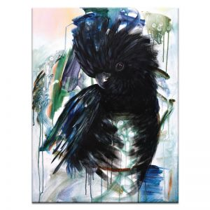 Vincent Black Cockatoo | Amanda Skye-Mulder | Canvas or Print by Artist Lane
