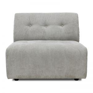Vint Couch Element B   Courduroy Rib Crème   HK Living