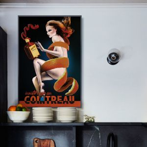 Vintage Cointreau Poster  |  Signed Artist's Print  |  Sized for Easy Framing