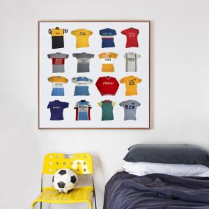 Vintage Cycling Jerseys Canvas