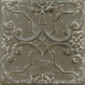 Vintage Design 33   Pressed Metal Panel