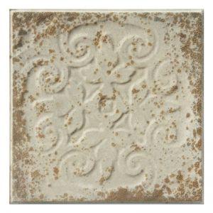 Vintage Design 9   Pressed Metal Panels   Antique White