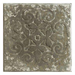 Vintage Design 9   Pressed Metal Panels   Zinc White Wash