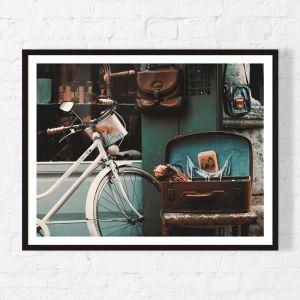 Vintage Essentials | Framed Print | Artefocus