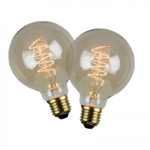 Vintage Filament Globes G95 | Twin Pack