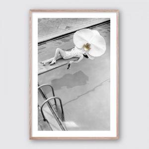 Vintage Orchid | Framed Giclee Art Print