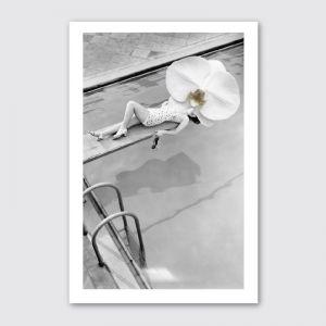 Vintage Orchid | Unframed Giclee Art Print