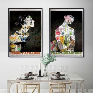 Vintage Papillon Poster  |  Signed Artist's Print or Print on Canvas