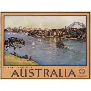 Vintage Sydney Harbour   Wall Art