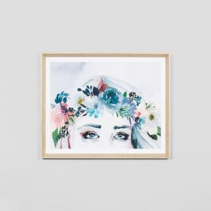 Viola Blue | Framed Print