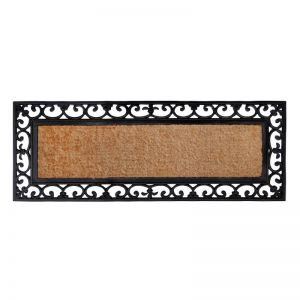 Vista | 45x120 CM | Rubber Bordered Coir Doormat | Fab Habitat