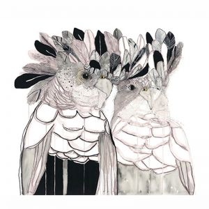 Viv and Vern | Art Print by Grotti Lotti