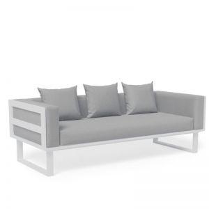 Vivara Outdoor 2.5 Seater Sofa | White