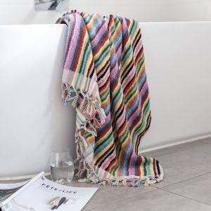 Vivid Lines Bath Towel