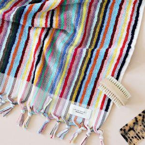 Vivid Lines | Hand Towel