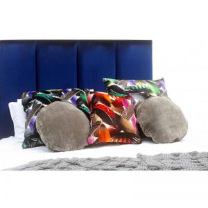 Vogue Velvet Bedhead By Bedsahead   Custom Made In Various Colours & Sizes