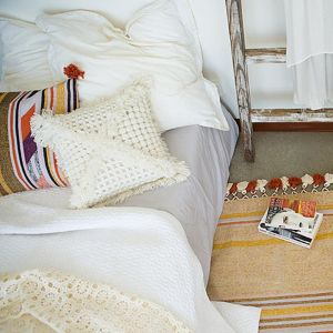 Vovo Cushion by Amigos De Hoy   Cream