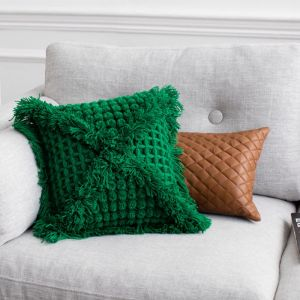 Vovo Cushion by Amigos De Hoy | Emerald
