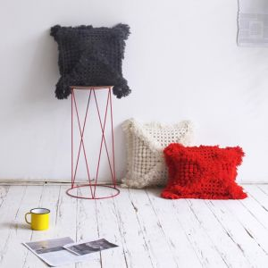 Vovo Cushion by Amigos De Hoy | Grey