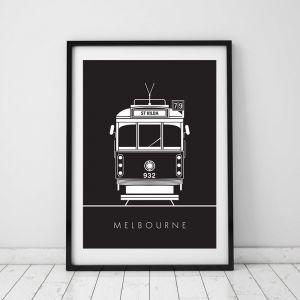 W Class Tram | Print
