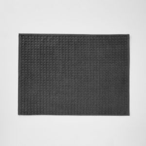 Waffle Bath Mat | Charcoal by Aura Home