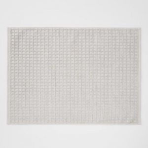 Waffle Bath Mat | Natural by Aura Home