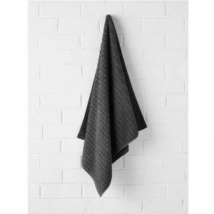 Waffle Bath Towel | Charcoal by Aura Home