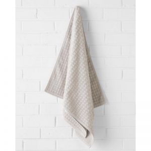Waffle Bath Towel | Natural by Aura Home
