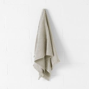 Waffle Bath Towel Set | Natural by Aura Home