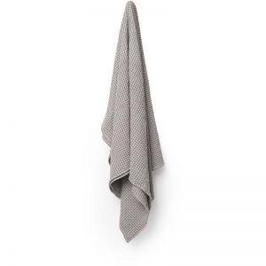 Waffle Bath Towel | Silver Grey