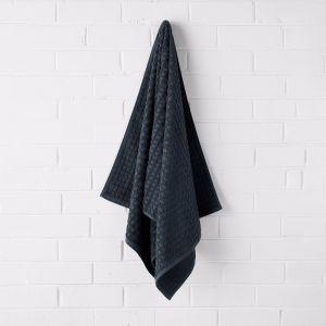 Waffle Bath Towel | Slate | by Aura Home