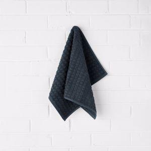 Waffle Hand Towel | Slate | by Aura Home