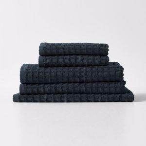 Waffle Towel Set | Slate by Aura Home