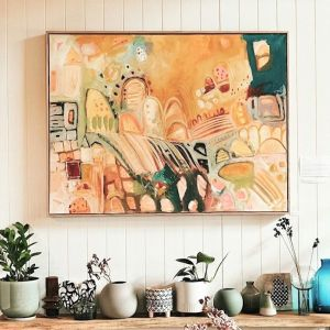 Waking Up Easy | Canvas Fine Art Print | Amy O'Donnell