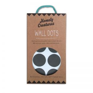 Wall Decal Dots by Homely Creatures | Removal & Reusable | Black