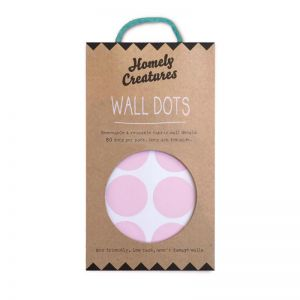 Wall Decal Dots by Homely Creatures | Removal & Reusable | Pink