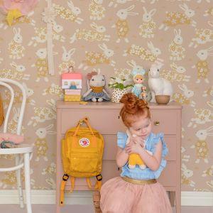 Wallpaper | Garden Party | Dusty Blushpink