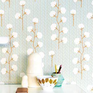 Wallpaper | Sweet Cotton | Turquoise